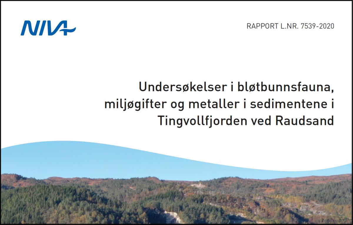 Tilstanden til fjorden utenfor Raudsand erforverret